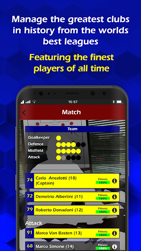 Retro Football Management screenshots 1