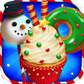 Christmas Dessert Bake Shop - Make Donuts & Cake