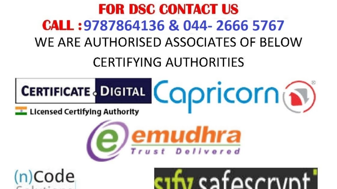 Digital Signature Certificate In Chennai Dsc Consultant In Chennai