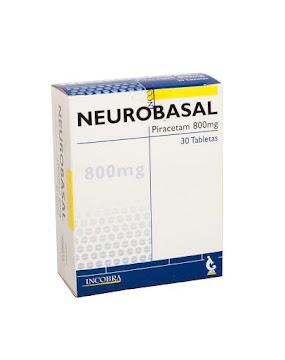 Neurobasal 800Mg.   Tabletas Caja x30Tab. Incobra Piracetam