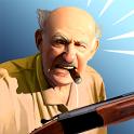 Angry Grandpa Crime Fighter icon