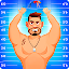 Super Buddy Throw – Toss into Space Buddy Games Icon
