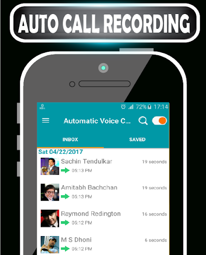 Automatic Voice Call Recorder Unlimited Recording 21 screenshots 1