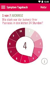 PSORIappHaut & Gelenke Check Screenshot