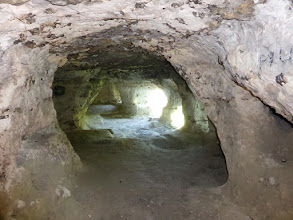 Photo: Le salon de la grotte.
