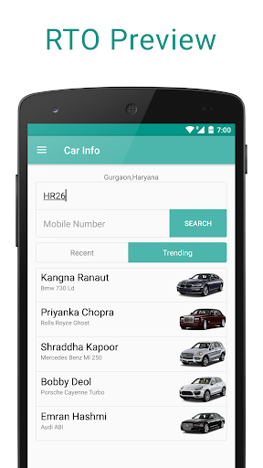 Car Info - Number Plate Info  screenshots 3