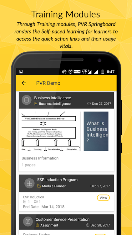PVR Springboard – (Android Apps) — AppAgg