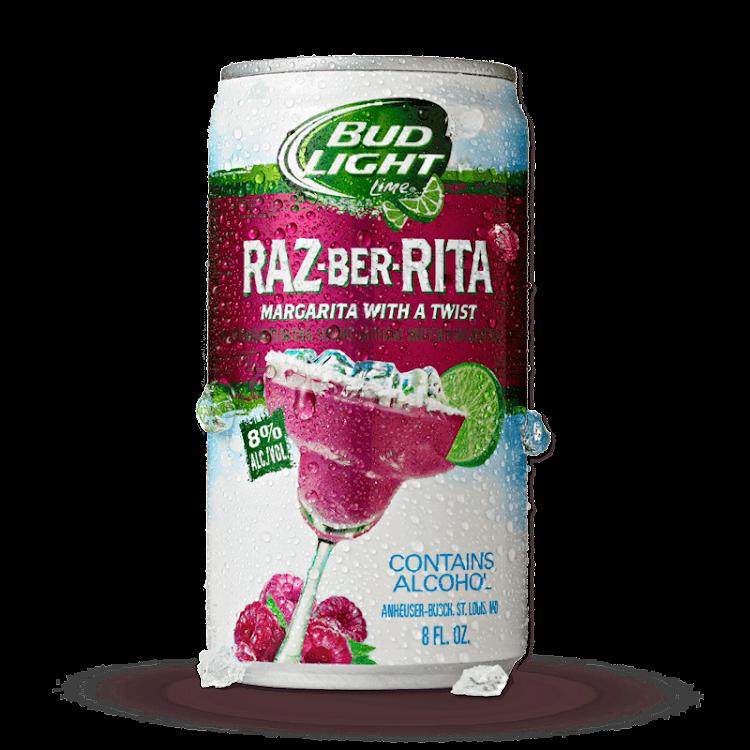 Logo of Bud Light Raz-Ber-Rita