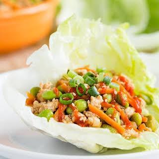 Asian Turkey Lettuce Wraps.