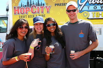 Photo: Some of the awesome volunteers at the 2014 Beer Carnival, Atlanta, Georgia
