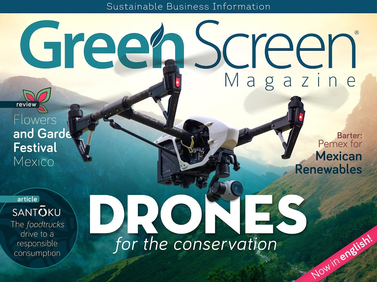 Green Screen Magazine: captura de pantalla