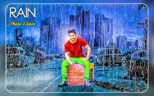 Rain Photo Frames New | Rain Photo Editor 2018 - náhled