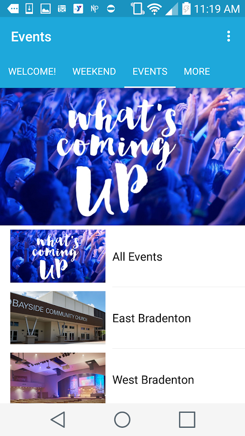 Bayside Community Church- screenshot