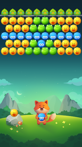 Bubble Animals Fox - Ultimate Bubble Shooter android2mod screenshots 4