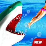 Hungry Shark Attack - Wild Shark Games 2019 icon