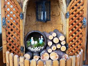Photo: Piccolo presepe in legnaia