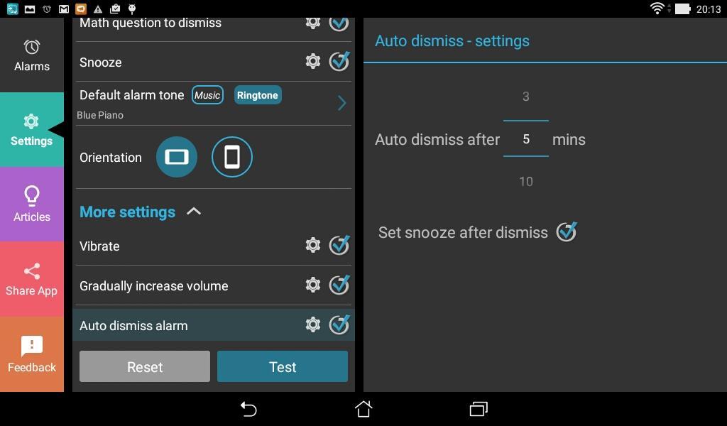 how to set up alarm clock