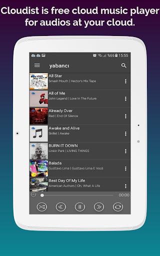 Cloudist - Free Cloud Music Player 8.4 screenshots 6