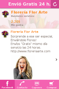 Florería Arte screenshot 0