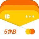 51信用卡管家-還款提醒、投資理財、信用貸款、征信查詢 icon