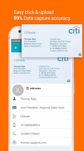 Business Card Reader: Card Scanner & Organizer Pro 1.3.2 screenshots 1