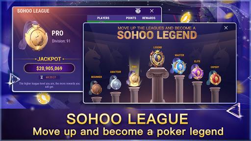 Sohoo Poker-Texas Holdem Poker 4.12.2 Mod screenshots 2