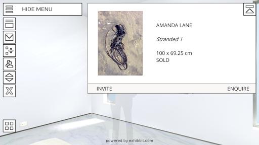 Exhibbit 3d virtual art gallery screenshot 1