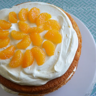 Pineapple Orange Spring Layer Cake Recipe to Celebrate Spring #KraftTastemakers