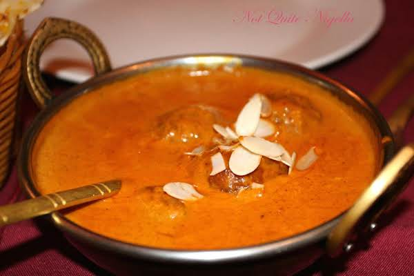 Malai Kofta ( Indian Veg-balls In A Thick Sauce)