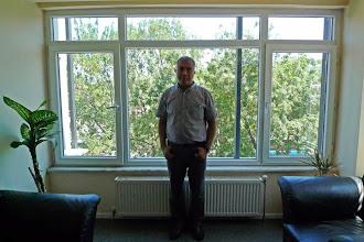 Photo: Zana Farqini, director of the Kurdish Institute in Istanbul, the author of many dictionaries of Kurdish language, Istanbul 2013