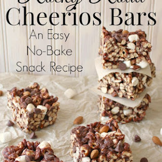 Rocky Road Cheerios Bars