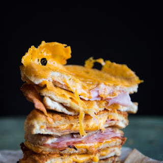 Epic Sourdough Grilled Ham and Cheese Sandwich.