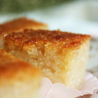 CASSAVA CAKE ~ KUIH BINGKA UBI KAYU