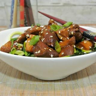 Five Ingredient Slow Cooker Teriyaki Chicken