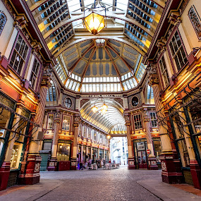 Leadenhall Market by Aamir DreamPix - Buildings & Architecture Other Interior ( shop, building, uk, market, london, markets, buildings, architectural detail, architecture, shopping,  )