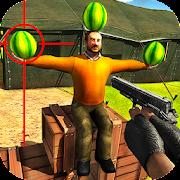 Wassermelone Schießen Spiel 3D