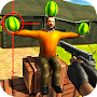 Watermelon shooting game 3D APK icon