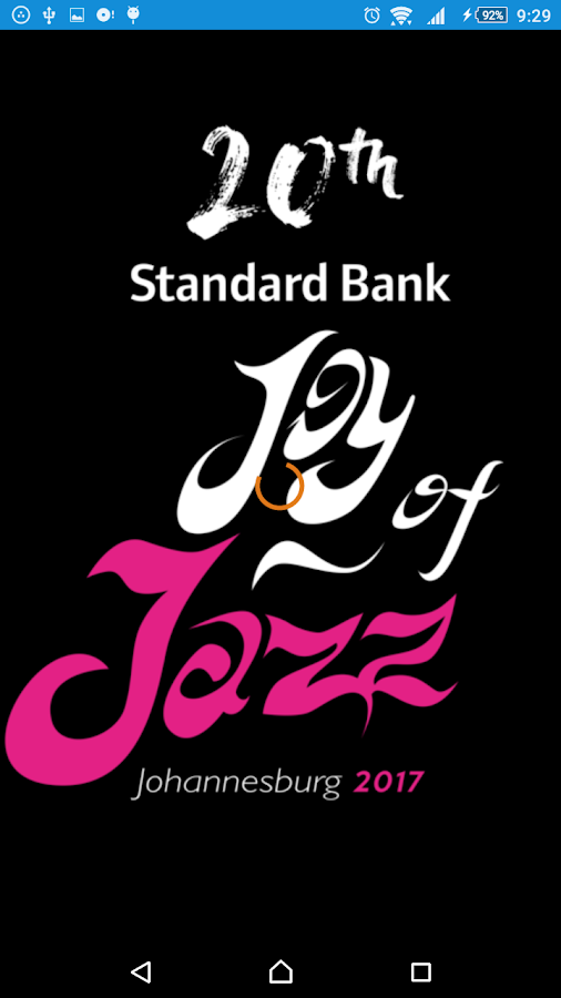 Standard Bank Joy of Jazz 2017- screenshot