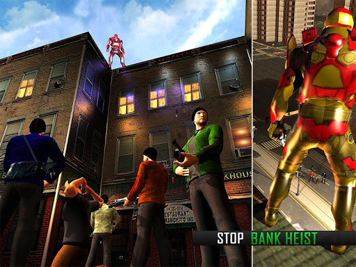 Game Flying Robot Grand City Rescue (apk) download gratis untuk Android/PC/Windows screenshot