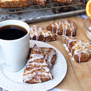 Low Carb Cinnamon Orange Scones