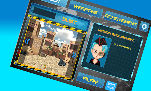 3D World War Attack - náhled