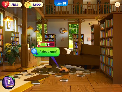 Small Town Murders: Match 3 Crime Mystery Stories filehippodl screenshot 16