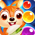 Squirrel pop - match, fun & shooter bubble pet icon