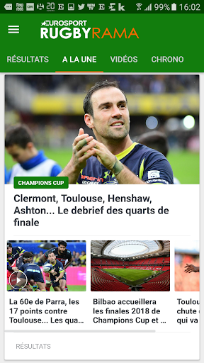 Rugbyrama 3.7 screenshots 1