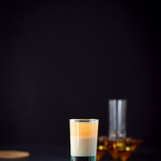 Irish Flag Shot Cocktail.