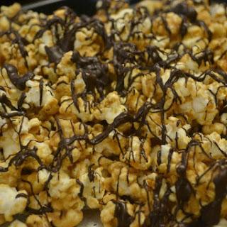 Peanut Butter Chocolate Popcorn