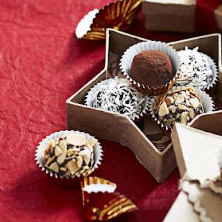 Chocolate Rum Truffles.