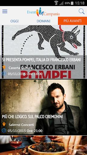 Eventi in Campania