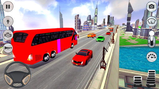 City Coach Bus Driver 3D Bus Simulator 1.1 screenshots 5