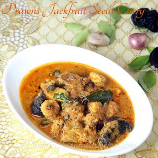 Prawns & Jackfruit Seeds Curry